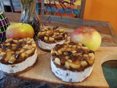 glutenfreie Apfel-Rosinen-Zimt-Törtchen