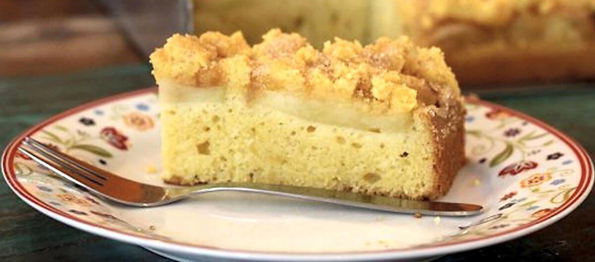 glutenfreier Apfel-Streuselkuchen