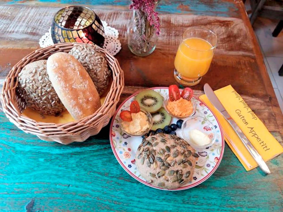 Beispiel Frühstück Nr. 1