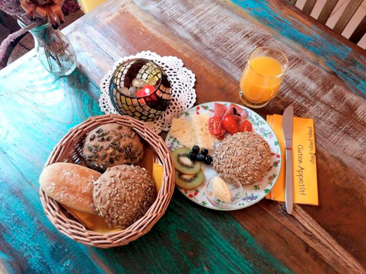 Beispiel Frühstück Nr. 2