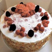 Geburtstagstorte Beeren oder Sahne