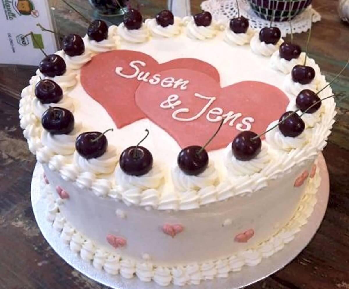 glutenfreie Hochzeitstorte Susen & Jens