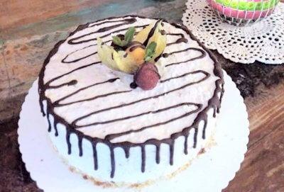 glutenfreie kleine Geburtstagstorte